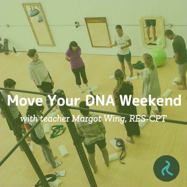 Move Your DNA Weekend with Margot Wing